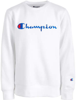 Champion Big Girls Heritage Logo Sweatshirt