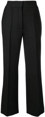 Joseph cropped flared trousers