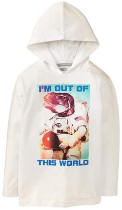 Crazy 8 Dino Astronaut Hooded Tee