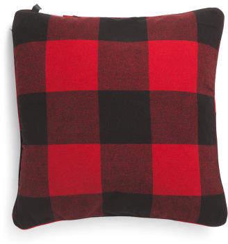 24x24 Oversized Buffalo Checkered Pillow
