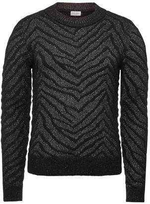 Saint Laurent Pullover with Mohair and Wool
