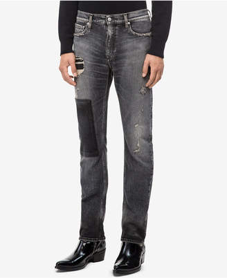 Calvin Klein Jeans Men Slim-Fit Monly Patch Jeans