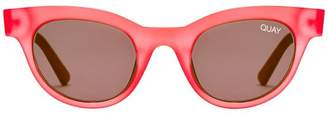 Quay X Kylie Star Struck Sunglasses - Red & Smoke