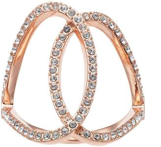Brilliance+ Brilliance Open Oval Ring with Swarovski Crystals