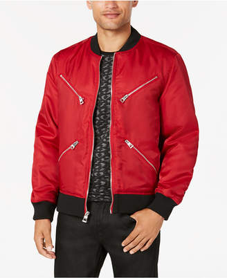 GUESS Men's Kennith Bomber Jacket