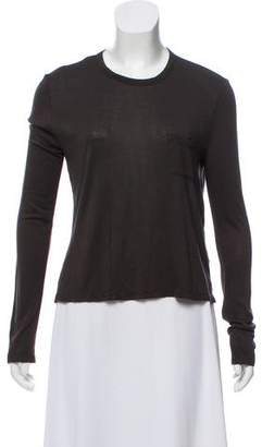Alexander Wang Long Sleeve Casual T-Shirt
