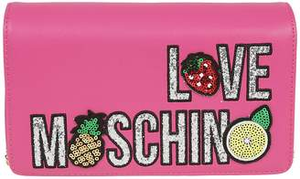 Love Moschino Sequined Clutch