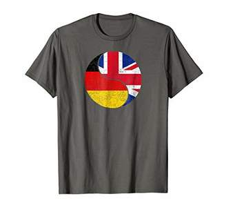 German British Flag Shirt Country Heritage Home Travel