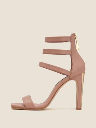 DKNY Sol Leather Ankle Strap Sandal