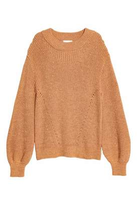 H&M Knit Sweater - Camel - Women