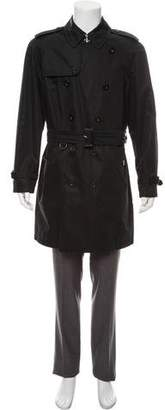 Burberry Nova Check-Lined Trench Coat
