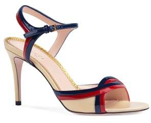 Gucci Millie Ankle Strap Sandal