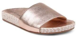 Splendid Women's Sanford Metallic Slide Sandals