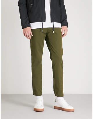 SLOWEAR Slim-fit stretch-cotton trousers