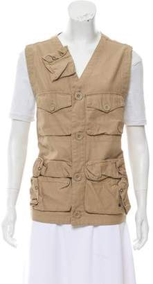 Schott NYC Structured Cargo Vest w/ Tags