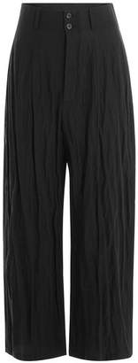 McQ High-Waisted Wide Leg Pants