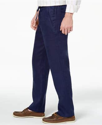 Tasso Elba Men's Linen Drawstring Pants, Created for Macy's