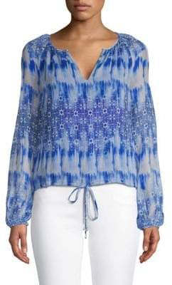 Ramy Brook Malia Silk Blouse