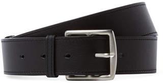Hermes Vintage Black Calfskin Belt 70