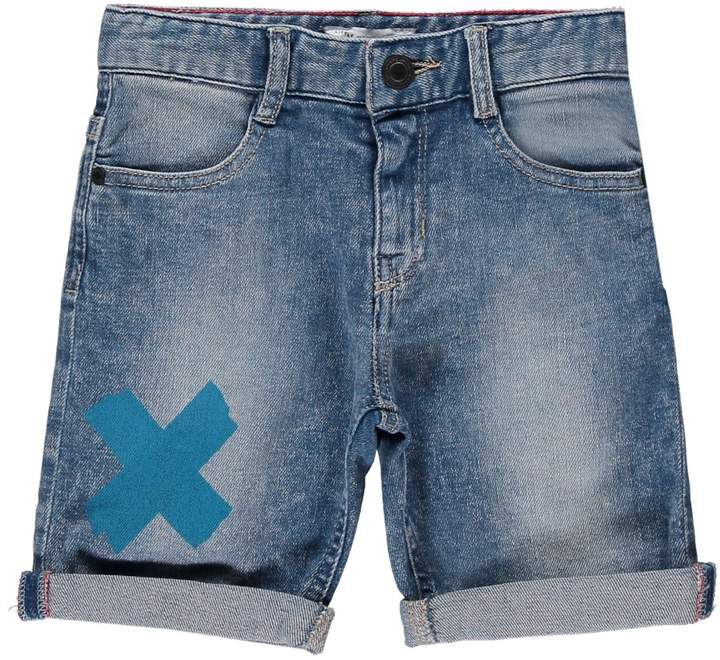 LITTLE MARC JACOBS Denim Undercut Board Shorts