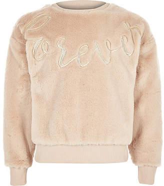 9277cbcd2 Girls Cream Faux Fur - ShopStyle UK
