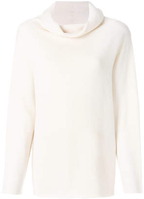 The Row cowl neck sweater