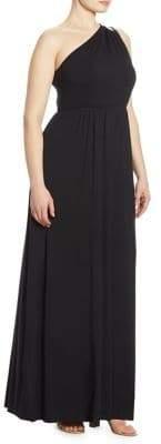 Rachel Pally, Plus Size Carre One-Shoulder Dress