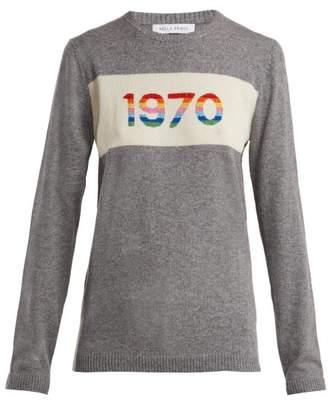Bella Freud 1970 Cashmere Blend Sweater - Womens - Grey