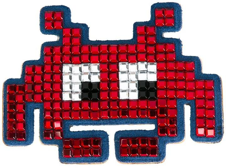 Anya HindmarchAnya Hindmarch 'Space Invaders' sticker