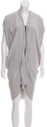 Zero Maria Cornejo Draped Knee-Length Dress