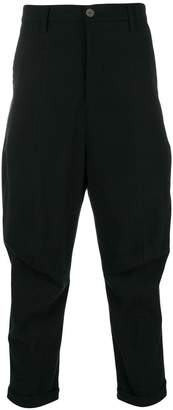 Andrea Ya'aqov cropped tapered trousers