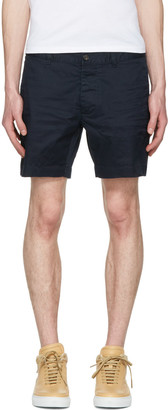 Dsquared2 Navy Twill Tennis Shorts $495 thestylecure.com