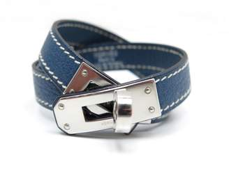 Hermes Kelly Double Tour leather bracelet