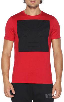 Fendi T-Shirt w/Cube Face $550 thestylecure.com