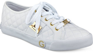 G by GUESS Byrone Quilted Lace-Up Sneakers $59 thestylecure.com