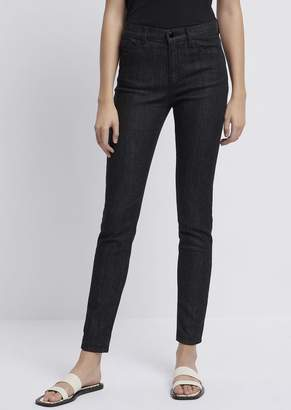 Emporio Armani Super Skinny Fit J20 Jeans With Sequin Pocket