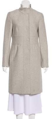 Akris Punto Wool Knee-Length Coat
