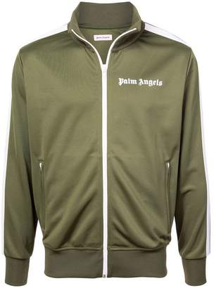 Palm Angels zipped logo jacket