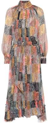 Zimmermann Ninety-Six paisley silk dress