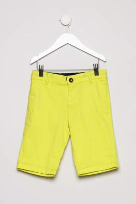 Mayoral Neon Yellow Shorts