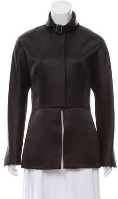 Giorgio Armani Satin Long Sleeve Jacket