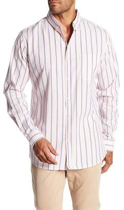 Cotton On & Co. Pink and Blue Stripe Print Shirt