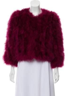 Jocelyn Fifi Feather Jacket w/ Tags