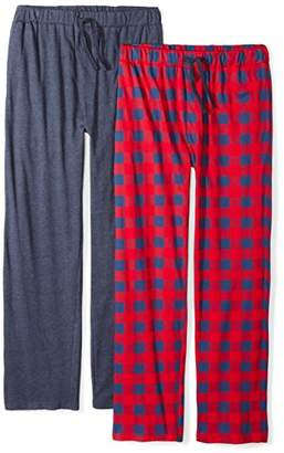 The Slumber Project Men's 2 Pack Cotton Sleep Pant Set (