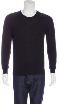 Exemplaire Cashmere Patch-Accented Sweater