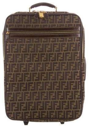 Fendi Zucca Roller Luggage
