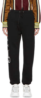 Gucci Black Interlock GG Lounge Pants