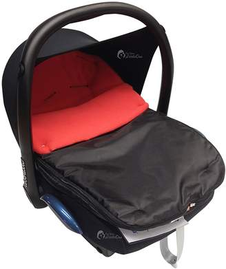 For Your Little One Car Seat Footmuff/Cosy Toes Compatible with All Car Seats Red