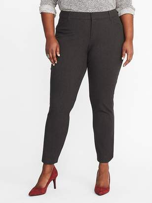 Old Navy Mid-Rise Secret-Slim Plus-Size Pixie Pants