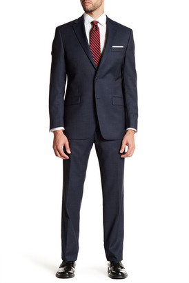 Ike Behar Wool Pinstripe Suit $379.97 thestylecure.com